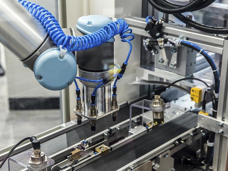 Mensch-Roboter-Kollaboration (MRK)